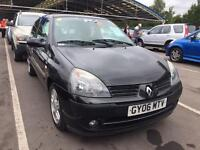 2006 Renault Clio PERFECT DRIVE YEAR MOT TAX