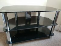 TV glass stand. Needs to go asap!