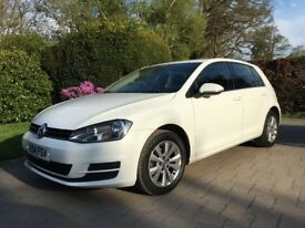 2014 14 VW GOLF 1.6 TDI SE 105PS MANUAL 5 DOOR ***FULL SERVICE HISTORY***