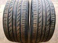 225/40/18 part worn tyres