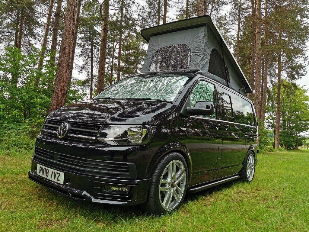 2018 VW transporter T6 Highline 150ps DSG Campervan Dayvan better than t5,  t5 1 and vivaro | in Newark, Nottinghamshire | Gumtree
