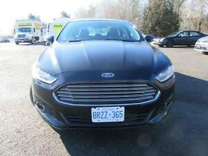 2014 Ford Fusion SE AWD, MOONROOF,NAV, 2.0L EcoBoost,Leather,