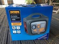 Halfords Portable Powerpack 100 - Jump Starter - Generator