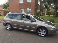 Peugeot 307 SW 7 seater Petrol with MOT 06/18 lots of Service History £795