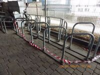 Sheffield Cycle Rack - Bike Loop Stand Galvanised Finish - 8 and 10 bikes stands - 5 available