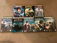 Full set Harry Potter DVDs