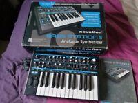 Bass Station 2 Analogue keyboard