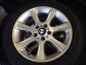 "4 BMW 17"" ORIGINAL 2012-2016 TOUT 3 SERIES + 2014-2016 TOUT 4 SERIES - SANS PNEUS"