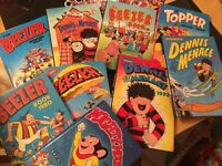 Old collectable comics