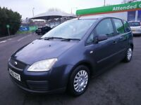 FORD C-MAX 1.6 MANUAL IN EXCELLENT CONDITION. LONG MOT. FULL SERVICE HISTORY. 2 PREVIOUS OWNERS