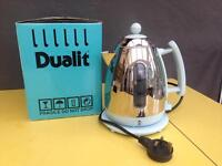 Dualit Kettle - Glacier Blue - working needs descale