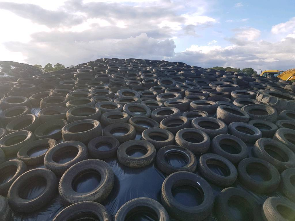 Free tyres for silo delivered free