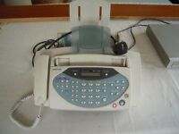 Phone fax machine made by Samsung in light use in very good condition