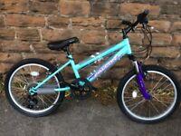 "New Falcon Jade Girls Mountain Bike 20"" Wheels Age 6-10 RRP £229"