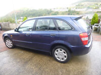 MAZDA 323F £350 5 Seater hatchback good reliable conditon 2 lady owner from new