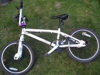 BMX Bike Decoy Very Good Condition! w/ Bike lock and one pair of stunt pegs!