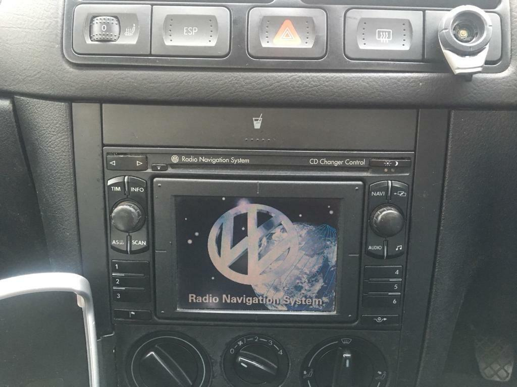VW Volkswagen Golf MK4 Bora Seat MFD Navigation System RNS car parts | in  Derby, Derbyshire | Gumtree