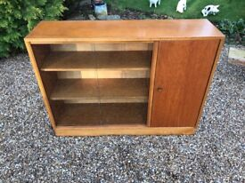 Retro Bookcase with Cupboard-Ideal for Hallway Ect