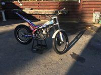 Beta evo 125 2014 trials bike
