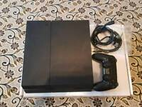 No offers Ps4 matte black 500gb with controller and wires