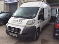 2008 FIAT DUCATO 2.3 LWB STARTS DRIVES SPARES OR REPAIR