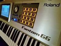 Roland Fantom G6 workstation keyboard. Very little home use only. Virtually new condition!