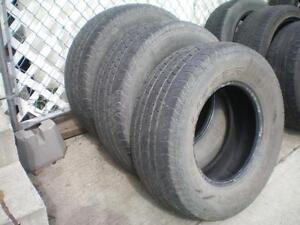 3 Cooper Discoverer CTS Tires * 265 70R16 112T * $60.00 for 3 .  M+S / All Season Tires ( used tires )