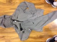 Nike tracksuit and camo bomber jacket longline