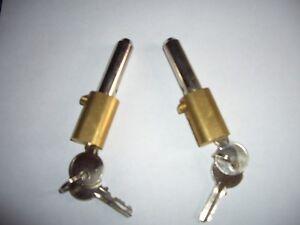 ROLLER SHUTTER BULLET LOCKS OVAL  KEYED ALIKE high security 6 pin anti drill