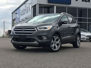 2017 Ford Escape Titanium| 4WD| Heated Leather Interior| Blind S