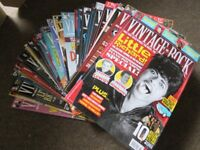 COLLECTION OF 31 ISSUES OF VINTAGE ROCK MAGAZINE (2014 - 2018)