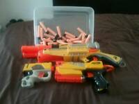 Nerf guns reduced from £25