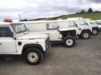 LANDROVER DEFENDERS DIRECT FROM NI WATER