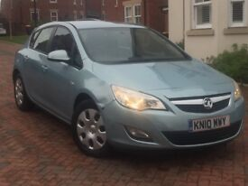 Vauxhall Astra 2010*hpi clear*Exclusiv 5dr 1.6vvt petrol manuel 12months mot Low Mileage NEW SHAPE