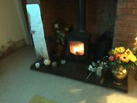 Charnwood wood burning stove for sale, good condition , still in use will remove when sold