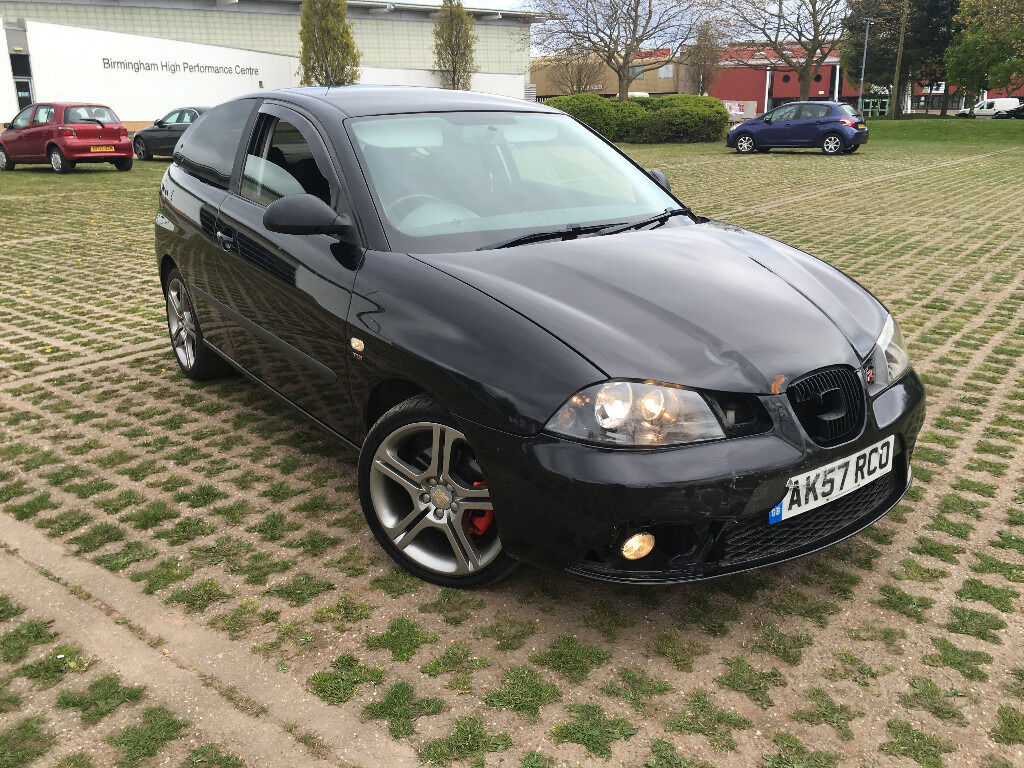 2007 seat ibiza fr 1 9tdi 130bhp turbo diesel low miles modified fsh 6 speed tax mot dvd tints. Black Bedroom Furniture Sets. Home Design Ideas