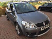 Suzuki sx4 4wd 1.6dt ddis diesel 08reg 74k fsh all main dealer £30 road tax