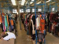 Retro and vintage clothes stock 70,000 pcs