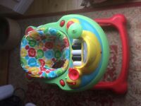 Barely used baby walker