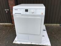 Miele TDA150C Condenser Freestanding Tumble Dryer, 7kg Load, in White