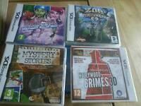 Nintendo ds games ×4