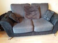 2 Seater Sofa & Large Cuddle Seat.
