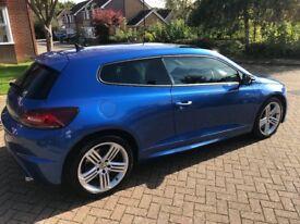 VW Scirocco R. Blue. 2011 Full VW dealer history, 265 bhp, DSG. Sunroof, sat nav, +lots of extras.