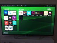 "SONY BRAVIA TV - 42"" with X-Reality PRO-LED Smart TV Live Football mode! LIKE NEW!"