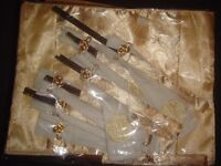chinese table runner and chopsticks