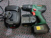 Bosch PSB 1800 Lithium-ion Cordless Two-Speed Combi Drill with 2 X 2Ah Bateries