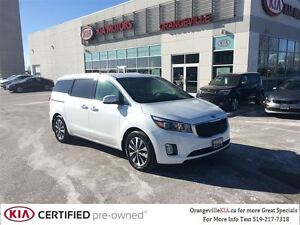 2016 Kia Sedona SX+ 7-Pass - Leather