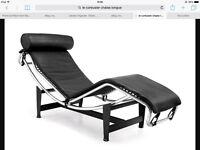 Le Carbousier chaise longue