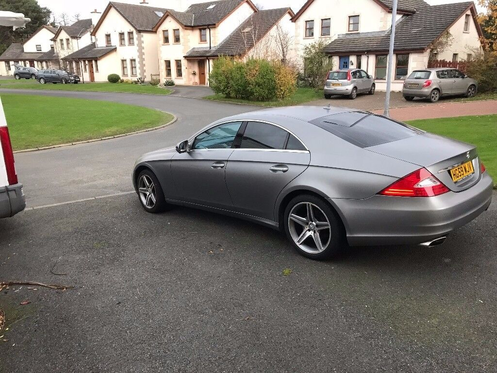 Mercedes 350 Cls Grand Edition With Special Grey Satin Paint Finish Benz