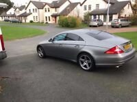 Mercedes 350 CLS GRAND EDITION with special Grey Satin paint finish